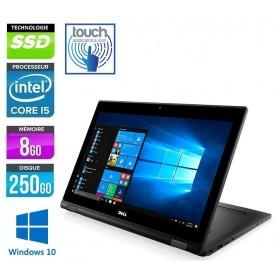 DELL Latitude 5289 2 en 1 Tactile Core i5 LED 12.5'' Full HD 8Go Ram 256Go SSD Windows 10 Pro 64Bits GARANTIE 2 ANS