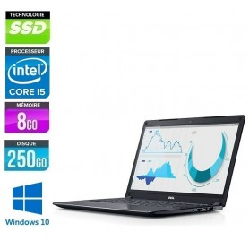Latitude E5470 Quad Core i5-6440HQ LED 14'' 8Go 256Go SSD Windows 10 Pro 64Bits GARANTIE 2 ANS