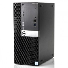 DELL Optiplex 7040 MT Quad Core i5-6600u 16Go Ram 256SSD Windows 10 Pro 64 GARANTIE 2 ANS