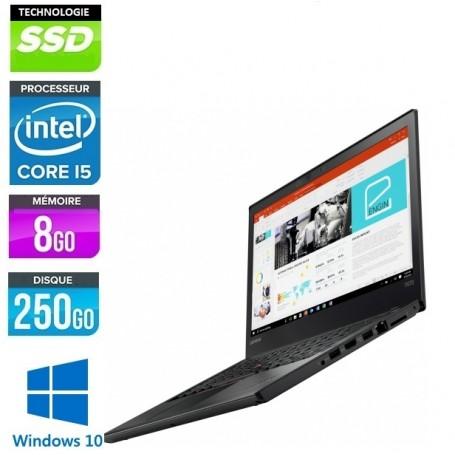 LENOVO Thinkpad T440 Core i5 8Go Ram 256Go SSD LED 14'' Windows 10 Pro 64 GARANTIE 2 ANS