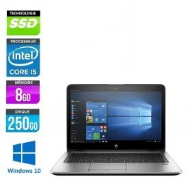 HP Elitebook 840 G4 Core i5-6300u 8Go Ram 256Go SSD LED 14'' Windows 10 Pro 64 GARANTIE 2 ANS
