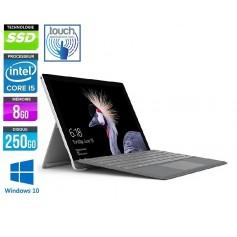 MICROSOFT Surface Pro 5 Core i5-7300U Ec LED Tactile 12.1'' 8Go Ram 256Go SSD + CLAVIER Windows 10 Pro 64 GARANTIE 2 ANS