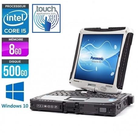 TOUGHBOOK CF-19 MK5 LED 10.4'' 8Go Ram 320Go HDD + CARTE 3G WINDOWS 10 Pro 64Bits GARANTIE 2 ANS