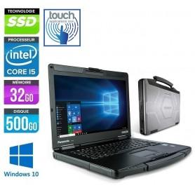 PANASONIC Toughbook CF-54 MK3 Core i5-7300u 32Go 512Go SSD 14'' LED Windows 10 Pro 64Bits GARANTIE 2 ANS