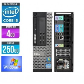 Optiplex 790 SFF Core I5 4Go Ram 250Go HDD Windows XP Pro GARANTIE 2ANS