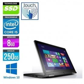 LENOVO Thinkpad Yoga 12 Tablet Core i5 LED 12.5'' Tactile FULL HD 8Go 250Go SSD Windows 10 Pro 64 GARANTIE 2 ANS