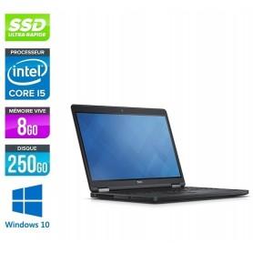 Latitude E5570 Core i5 Ec 15.6'' LED 8Go 256Go SSD LED 15.6'' Windows 10 Pro 64Bits GARANTIE 2 ANS