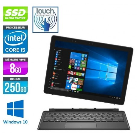 DELL Latitude 5285 Tablette Tactile Core i7 LED 12.3'' Full HD 16Go Ram 256Go SSD Windows 10 Pro 64 GARANTIE 2 ANS
