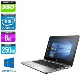 HP Elitebook 840 G3 Core i5-6300u 8Go 256Go SSD Type M2 LED 14'' Full HD (1920/1080) Windows 10 Pro 64 GARANTIE 2 ANS