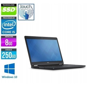 DELL Latitude E5580 Core i5 8Go Ram 256Go SSD LED 15.6'' FULL HD Tactile Windows 10 Pro 64 GARANTIE 2 ANS