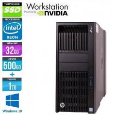 HP Z840 Intel Xeon E5-2637v3 32Go Ram 512Go SSD+ 1To HDD NVIDIA QuadroK4200 Windows 10 Pro 64Bits GARANTIE 2 ANS
