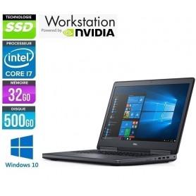 DELL Precision 7720 Quad core i7-7920HQ 32Go1To SSD NVMe NVidia P5000m LED 17,1'' (1920/1080) Windows 10 Pro 64GARANTIE 2 ANS
